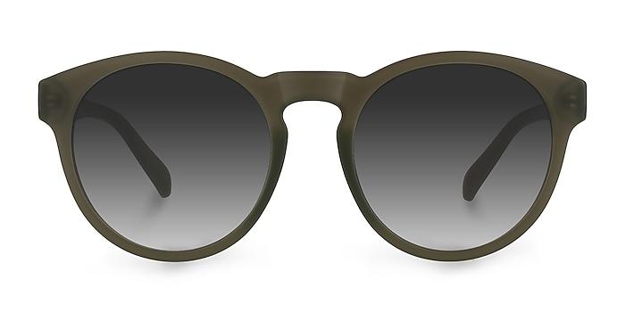 Taylor Matte Green Plastic Sunglass Frames from EyeBuyDirect
