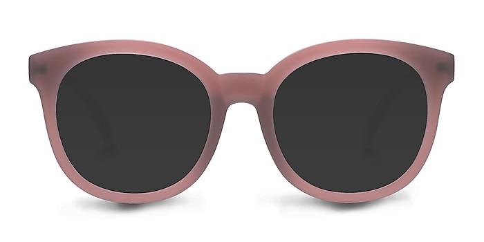 Elena Matte Brown Plastic Sunglass Frames from EyeBuyDirect