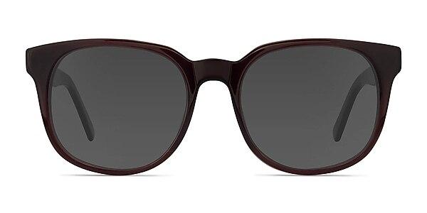 Tempest Purple Brown Acetate Sunglass Frames