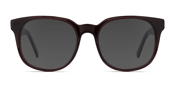 Tempest Purple Brown Acetate Sunglass Frames from EyeBuyDirect