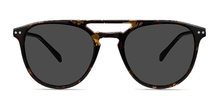 Meadow Tortoise Plastic Sunglass Frames from EyeBuyDirect