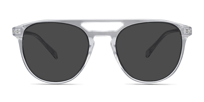 Meadow Clear Plastic Sunglass Frames from EyeBuyDirect