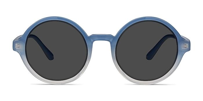 Solstice Blue Clear Plastique Soleil de Lunette de vue d'EyeBuyDirect