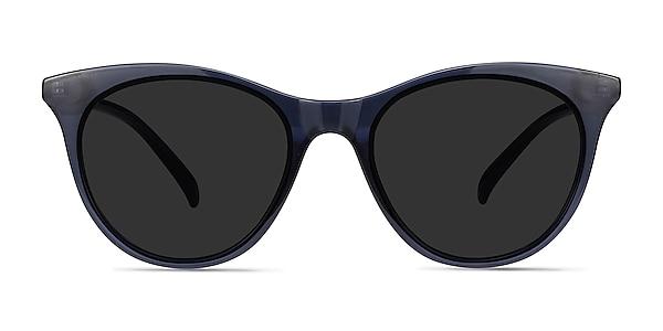 Cartel Clear Navy Plastic Sunglass Frames