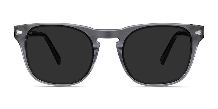 Daikon Gray Acetate Sunglass Frames from EyeBuyDirect