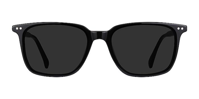 Luck Black Acetate Sunglass Frames from EyeBuyDirect