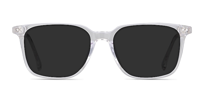 Luck Clear Acetate Sunglass Frames from EyeBuyDirect