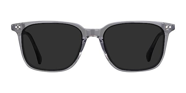 Luck Clear Gray Acetate Sunglass Frames