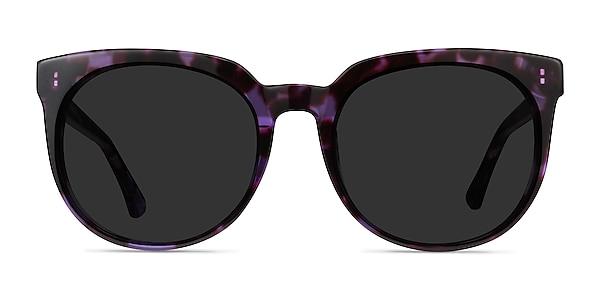 Queen Purple Tortoise Acetate Sunglass Frames