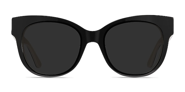 Tahiti Black Acetate Sunglass Frames
