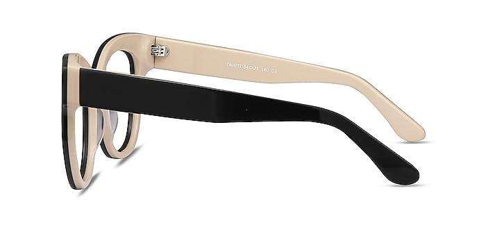 Tahiti Black Acetate Sunglass Frames from EyeBuyDirect