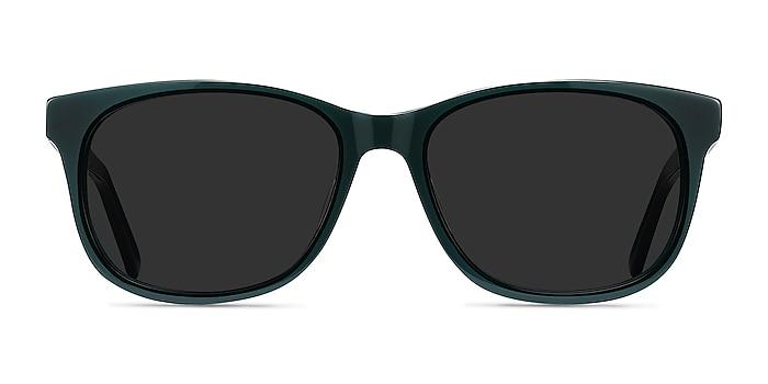 Borneo Green Acetate Sunglass Frames from EyeBuyDirect
