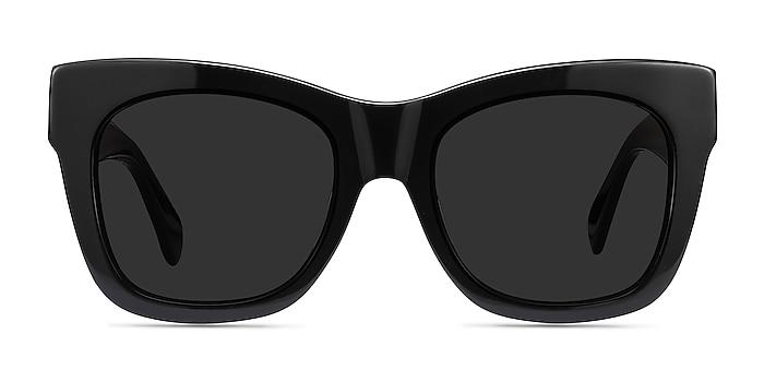 Calico Black Acetate Sunglass Frames from EyeBuyDirect