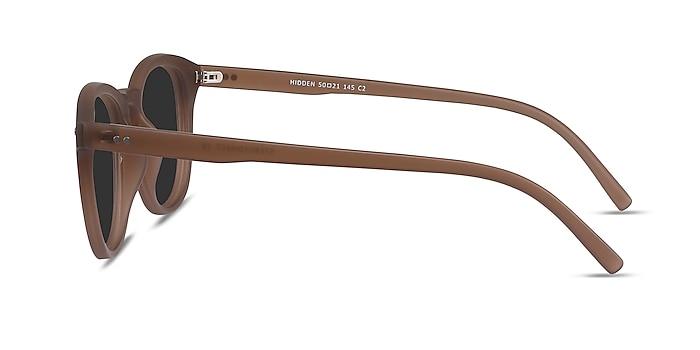 Hidden Brown Plastic Sunglass Frames from EyeBuyDirect