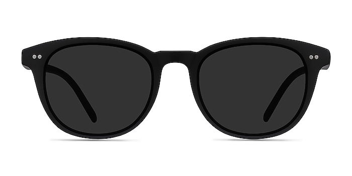 Hidden Black Plastic Sunglass Frames from EyeBuyDirect