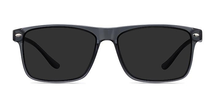 Cortez Gray Plastic Sunglass Frames from EyeBuyDirect