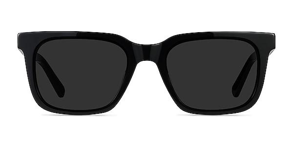 Riddle Black Acetate Sunglass Frames