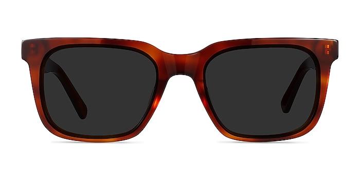 Riddle Tortoise Acetate Sunglass Frames from EyeBuyDirect