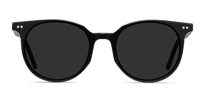 Hideout Black Acetate Sunglass Frames from EyeBuyDirect