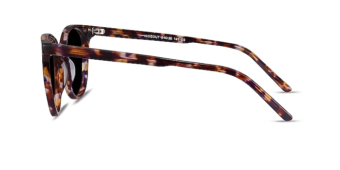 Hideout Tortoise Acetate Sunglass Frames from EyeBuyDirect