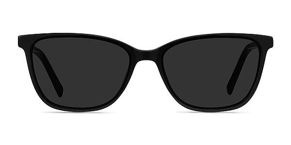 Halle Black Acetate Sunglass Frames