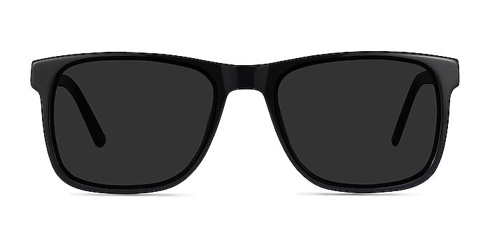 Kudos Black Acetate Sunglass Frames from EyeBuyDirect