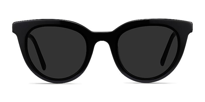 Cherish Black Acetate Sunglass Frames from EyeBuyDirect