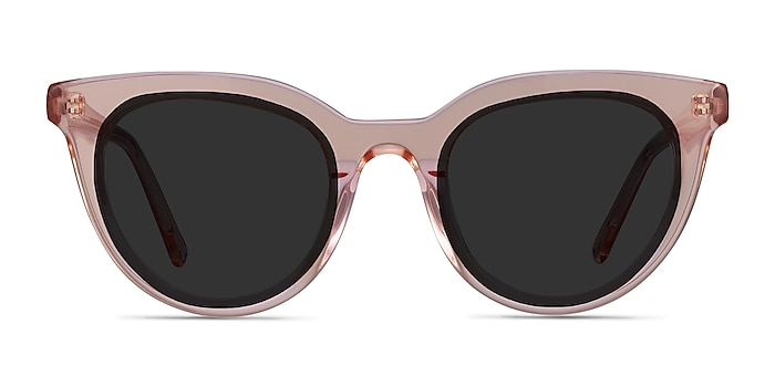 Cherish Champagne Acetate Sunglass Frames from EyeBuyDirect