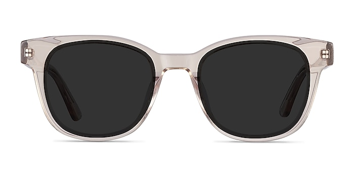 Sun Lighthouse Champagne Acetate Sunglass Frames from EyeBuyDirect