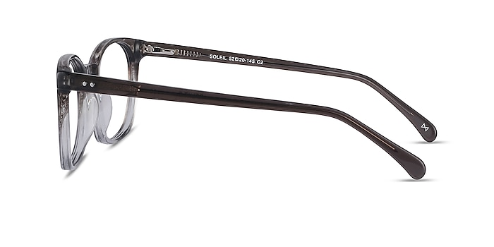 Soleil Striped Acetate Sunglass Frames from EyeBuyDirect
