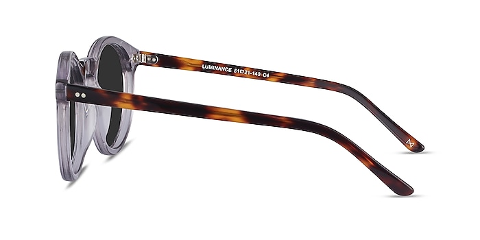 Luminance Gray Acetate Sunglass Frames from EyeBuyDirect