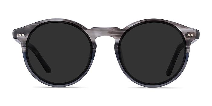 Luminance Striped Acetate Sunglass Frames from EyeBuyDirect