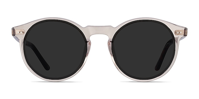 Luminance Champagne Acetate Sunglass Frames from EyeBuyDirect