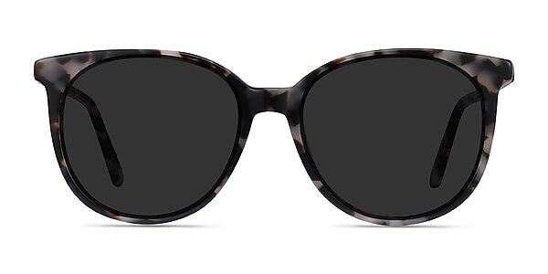 Sun Bardot Ivory Tortoise Acetate Sunglass Frames