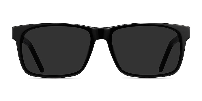 Sun Sydney Black Acetate Sunglass Frames from EyeBuyDirect