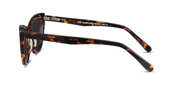 Sun Charlotte Tortoise Acetate Sunglass Frames from EyeBuyDirect