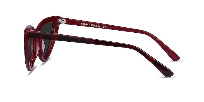 Secret Burgundy Tortoise Acetate Sunglass Frames from EyeBuyDirect
