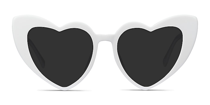 Darling White Acetate Sunglass Frames from EyeBuyDirect