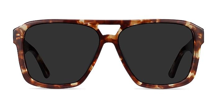 Bauhaus Havana Tortoise Acetate Sunglass Frames from EyeBuyDirect