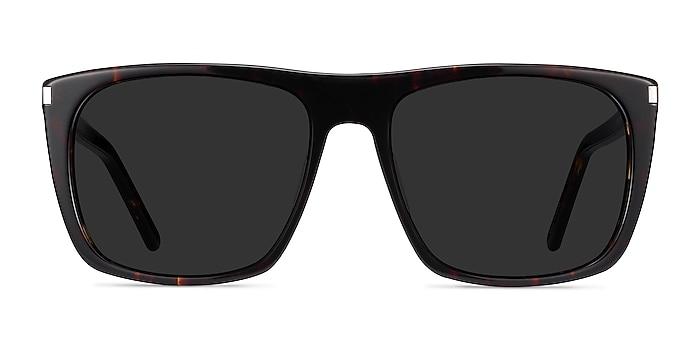 Jim Dark Tortoise Acetate Sunglass Frames from EyeBuyDirect