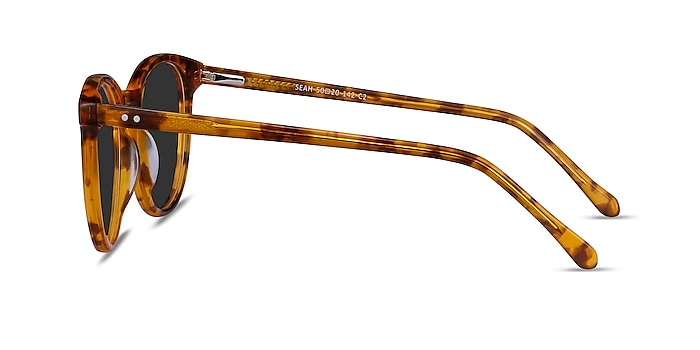 Seah Warm Tortoise Acetate Sunglass Frames from EyeBuyDirect