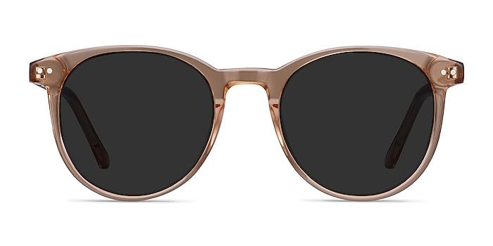 Seah Clear Brown Acétate Soleil de Lunette de vue d'EyeBuyDirect