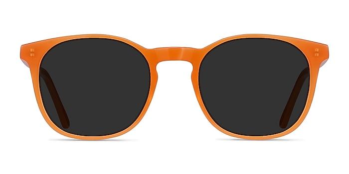 Safari Orange Acétate Soleil de Lunette de vue d'EyeBuyDirect