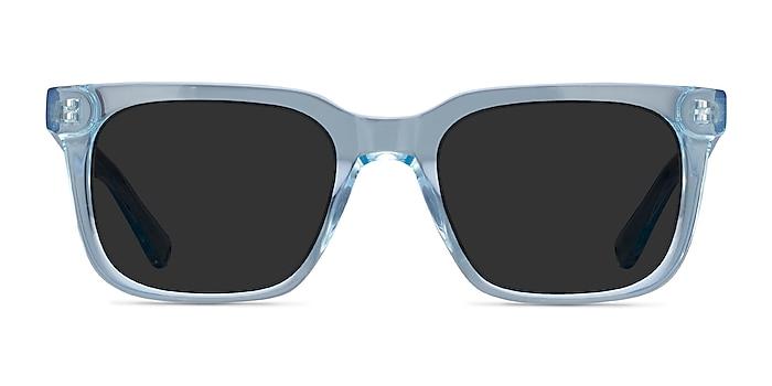 Riddle Clear Blue Acétate Soleil de Lunette de vue d'EyeBuyDirect