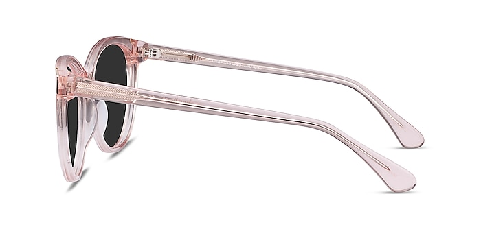 Lima Clear Pink Acetate Sunglass Frames from EyeBuyDirect