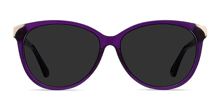 Lima Violet Acétate Soleil de Lunette de vue d'EyeBuyDirect