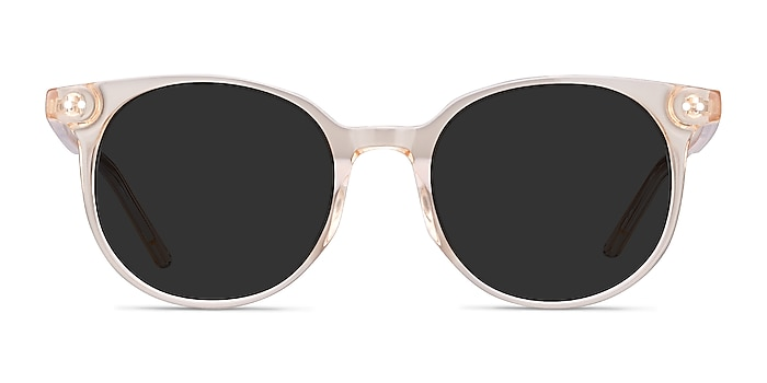 Hideout Clear Melon Acetate Sunglass Frames from EyeBuyDirect