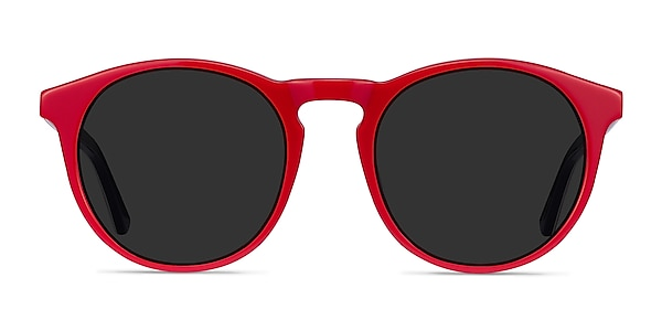 Monument Red & Navy Acetate Sunglass Frames