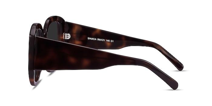 Bianca Tortoise Acetate Sunglass Frames from EyeBuyDirect