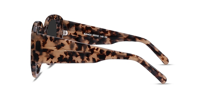 Bianca Ivory Tortoise Acetate Sunglass Frames from EyeBuyDirect